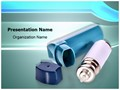 Asthma Inhaler Editable PowerPoint Template