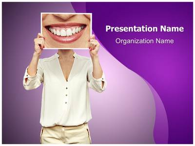 Big Smile Editable PowerPoint Template