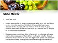 Grapes Editable PowerPoint Template