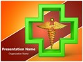 Healthcare Symbol Editable PowerPoint Template