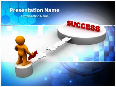 Achieving Success Editable PowerPoint Template