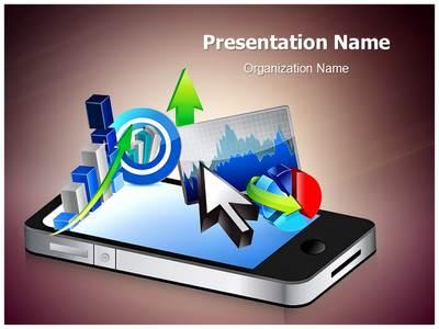 Business Phone Editable PowerPoint Template