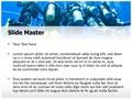 Scuba Divers Group Editable PowerPoint Template