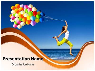 Happiness Editable PowerPoint Template