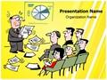 Presentation Illustration Editable PowerPoint Template