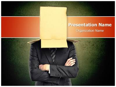 Hidden Identity Editable PowerPoint Template