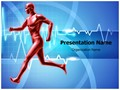 Healthy Heart Beats Editable PowerPoint Template
