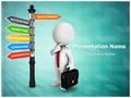 Seeking a job Editable PowerPoint Template