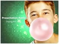 Chewing Gum Editable PowerPoint Template