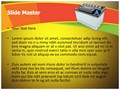 Car Battery Editable PowerPoint Template