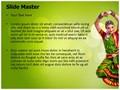 Bharatanatyam Editable PowerPoint Template