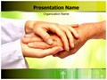 Caring Helping Hands Editable PowerPoint Template