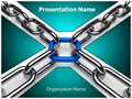 3D Chain Editable PowerPoint Template