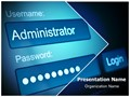 Administrator Password Editable PowerPoint Template