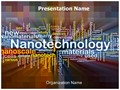 Nanotechnology Words Editable PowerPoint Template