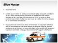 Ambulance Editable PowerPoint Template