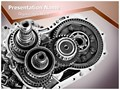 Car Gear Box Editable PowerPoint Template