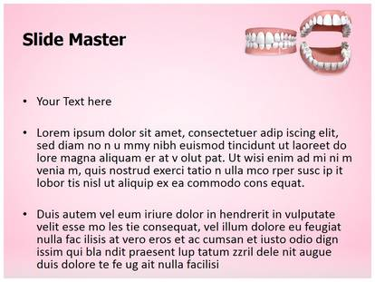 Free Dental Openbite Medical Powerpoint Template For Medical