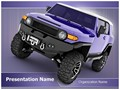 Sport Utility Vehicle Editable PowerPoint Template