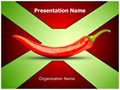 Red Chili Editable PowerPoint Template