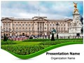 Buckingham Palace Editable PowerPoint Template