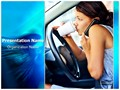Distracted Driving Editable PowerPoint Template