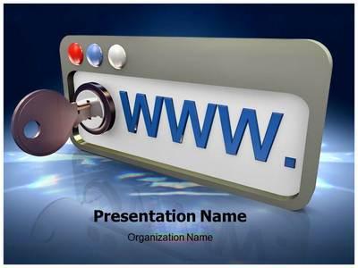 Internet Security Editable PowerPoint Template