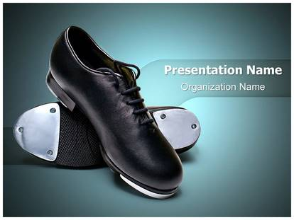 Professional Tap Shoes Editable PowerPoint Template