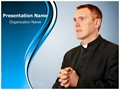 Priest Rosary Editable PowerPoint Template