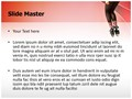 Tap Dancer Editable PowerPoint Template