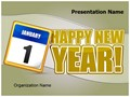 New Year Editable PowerPoint Template