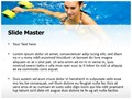 Aqua Aerobics Editable PowerPoint Template