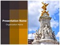 Victoria Monument Editable PowerPoint Template