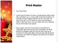 Advent Editable PowerPoint Template