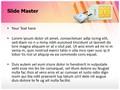 Sim Card Lock Editable PowerPoint Template