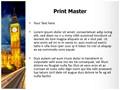 London Parliament Big Ben Editable PowerPoint Template