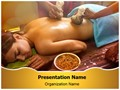 Indian Ayurvedic Oil Therapy Editable PowerPoint Template
