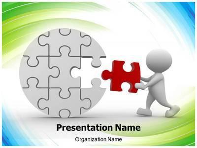 Last Puzzle Piece Editable PowerPoint Template