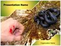 Snake Bite Editable PowerPoint Template