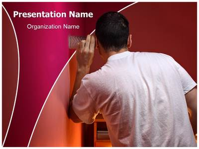 Espionage Eavesdropping Editable PowerPoint Template