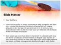 Iodine Swab Editable PowerPoint Template