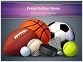 Sports Ball Editable PowerPoint Template