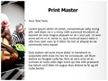 Wrestlers Referee Editable PowerPoint Template