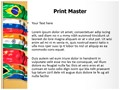 Brics Editable PowerPoint Template