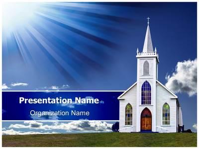 Congregation Church Sermon Editable Powerpoint Templates