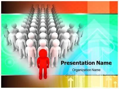 Organizational Leadership Editable PowerPoint Template