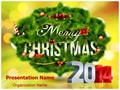 Merry Christmas New Year Editable PowerPoint Template