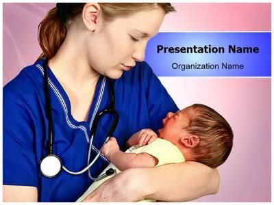 Midwifery Editable PowerPoint Template