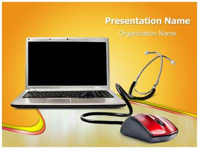 Online Medical Support Editable PowerPoint Template