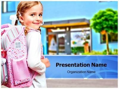 Love My School Editable PowerPoint Template